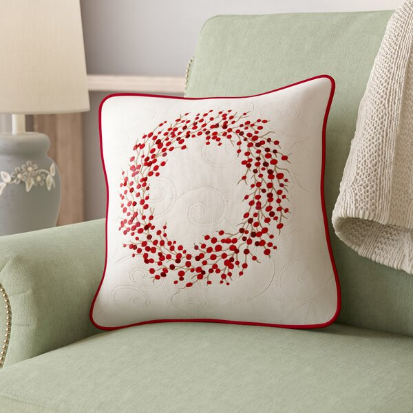Hale Embroidered Throw Pillow by August Grove