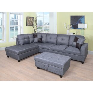 Awesome Grey Leather Sectional Sofas