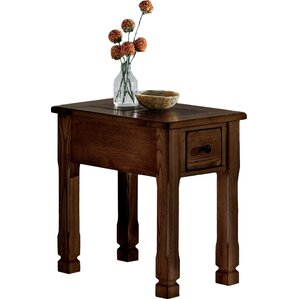 Hotchkiss Chairside Table by Loon Peak