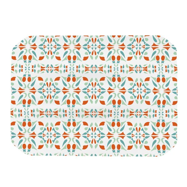 Italian Kitchen Orange Placemat by KESS InHouse
