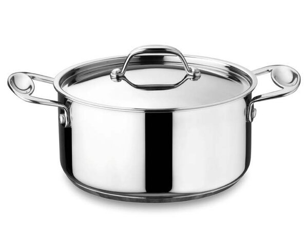 Glamour Stone Casserole Soup Pot with Lid by MEPRA