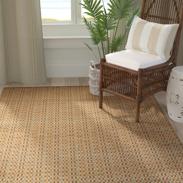 Abbotsford Hand-Woven Natural Area Rug by Bay Isle Home