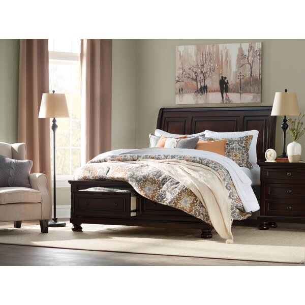 Barossa Storage Sleigh Bed by Darby Home Co