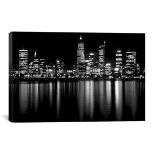'Downtown City' Photographic Print by East Urban Home