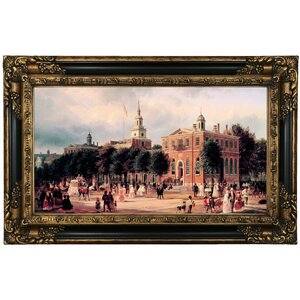 'Independence Hall' Print on Canvas by Historic Art Gallery