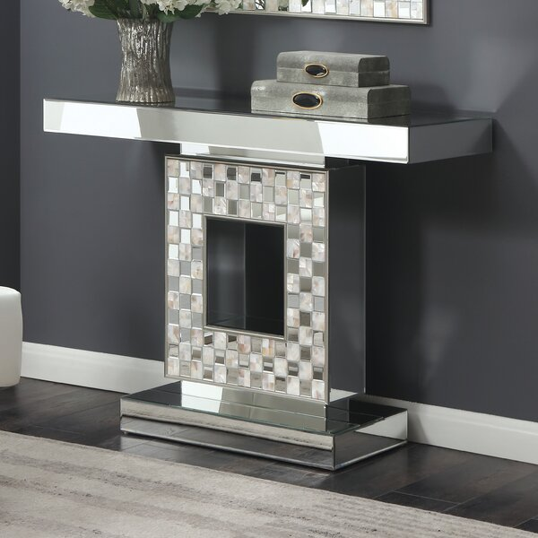 Melksham Console Table by Everly Quinn