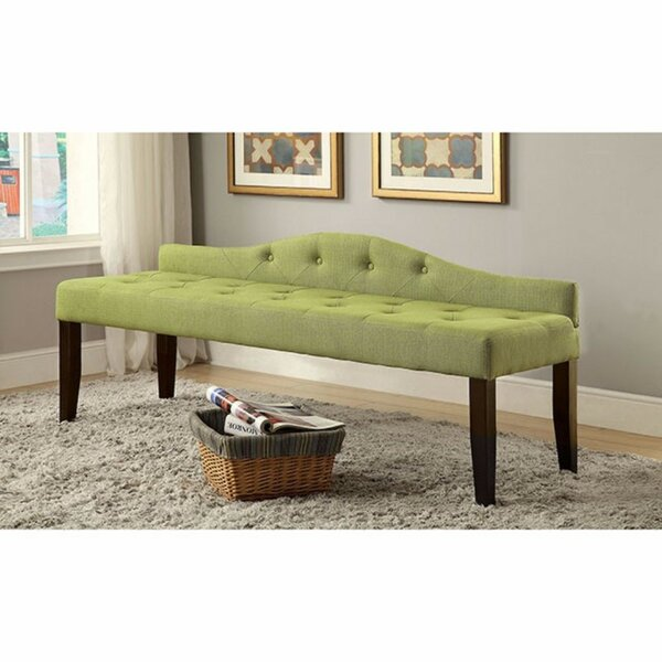 Caravelle Wood Bench by House of Hampton