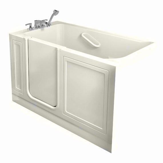 50.5 x 30.5 Gelcoat Left Hand Walk-In Air Spa by American Standard