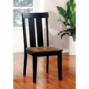 Niamh Solid Wood Dining Chair (Set of 2) by Red Barrel Studio