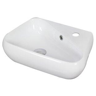 Best Reviews Specialty Ceramic Specialty Vessel Bathroom Sink with Overflow ByAmerican Imaginations