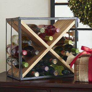 Cross Tabletop Wine Rack by Birch Lane™