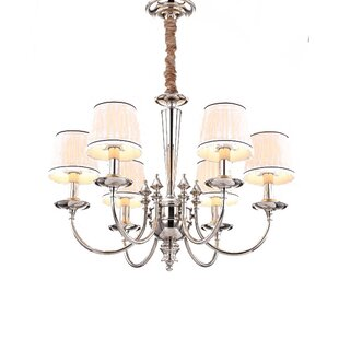 Creighton 6-Light Shaded Chandelier By House of Hampton