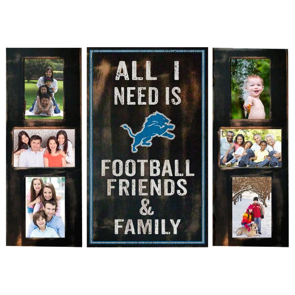 3 Piece NFL All I Need Picture Frame Set by Fan Cr