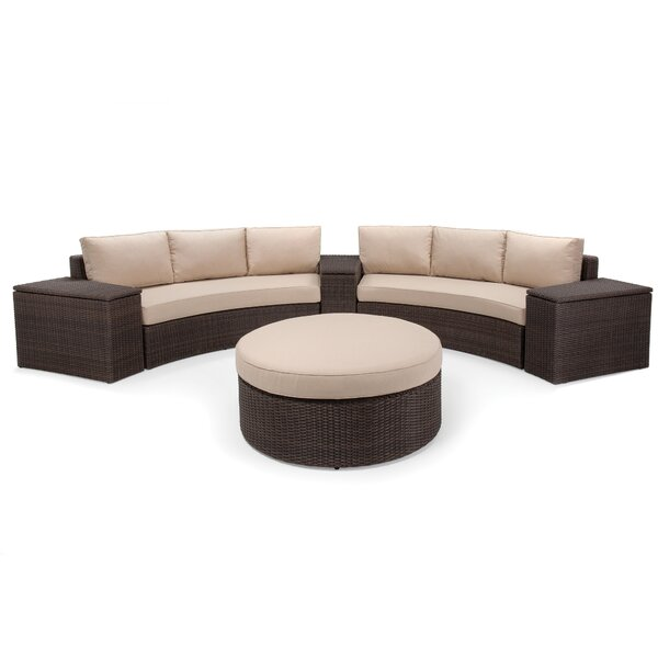 Capri 6pc Deep Sunbrella Seating Group by Winston