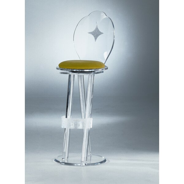 Koenraad Swivel Bar Stool by Orren Ellis Orren Ellis