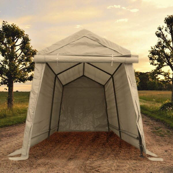 Storage 6 ft. W x 8 ft. D Steel Pop-Up Canopy by I