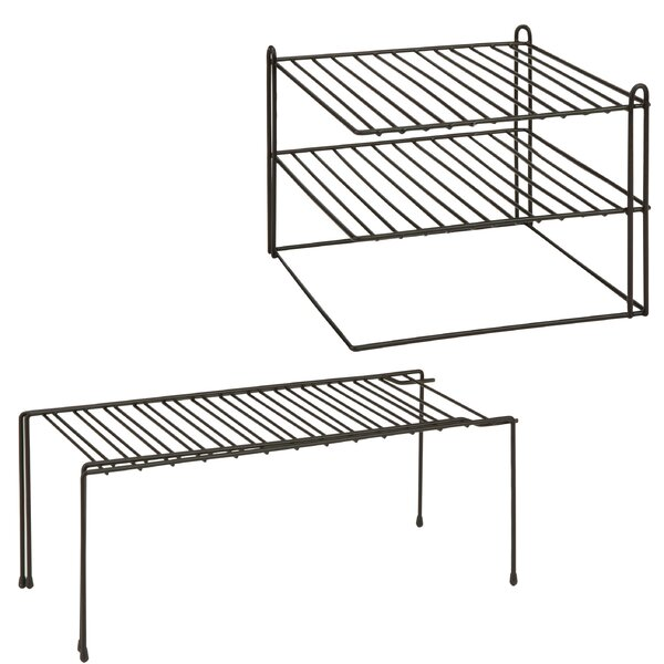 2 Piece Kitchen Shelving Rack Set [Honey Can Do]