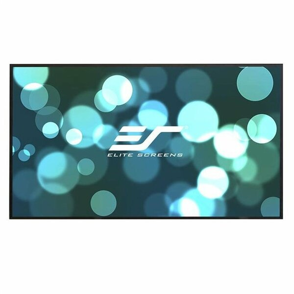 Aeon Fixed Frame Projection Screen By Elite Screens