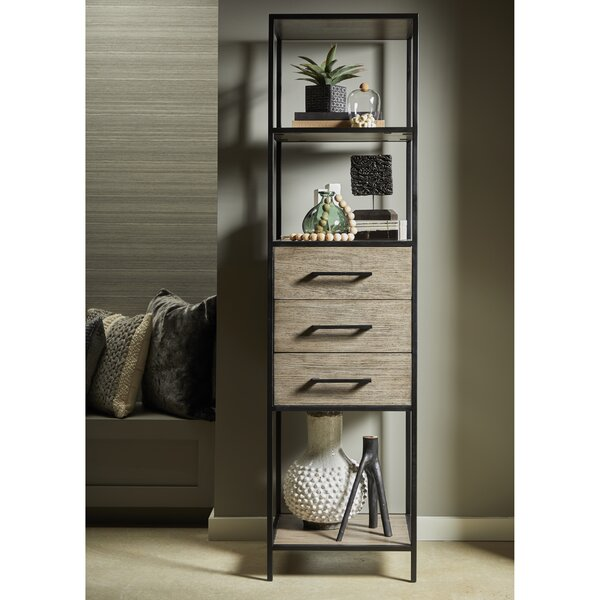 Taja Iron Frame Etagere Bookcase By Foundry Select