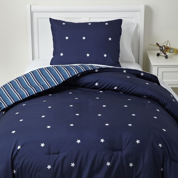Shining Star Reversible Duvet Set by Birch Lane Kids™