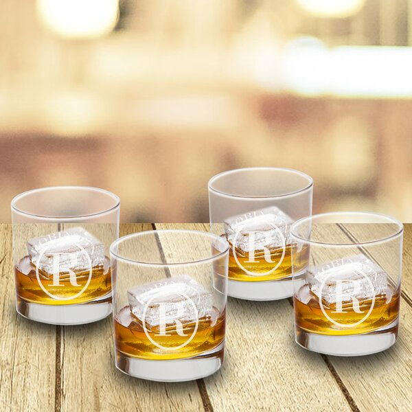 Personalized 8 oz. Shot glass/Shooter (Set of 4) by JDS Personalized Gifts
