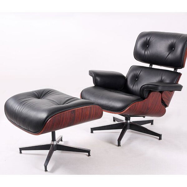 Clitherall Swivel Lounge Chair And Ottoman (Set Of 2) By Corrigan Studio