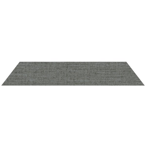 4 x 24 Porcelain Field Tile in Dark Gray by Madrid Ceramics