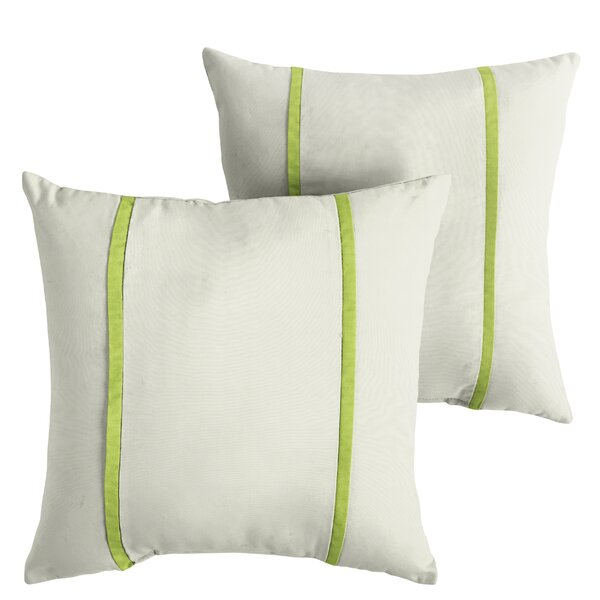 Holler Indoor/Outdoor Sunbrella Throw Pillow (Set of 2) by Alcott Hill