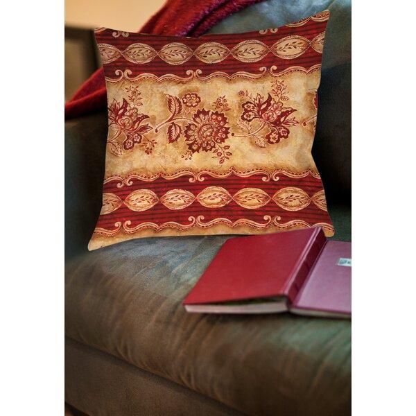 Alana Printed Throw Pillow by Fleur De Lis Living