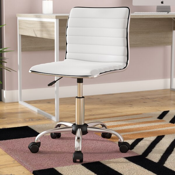Broadnax Mid-Back Desk Chair by Wade Logan