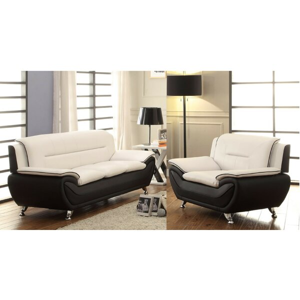 Ginsburg 2 Piece Living Room Set by Orren Ellis