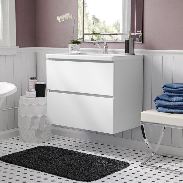 Samaira 30 Wall Mounted Bathroom Vanity by Willa Arlo Interiors