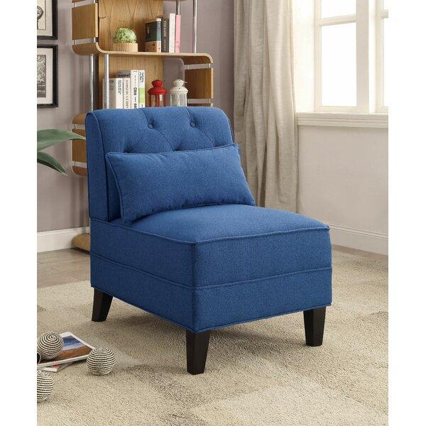 Hysley Slipper Chair by Alcott Hill
