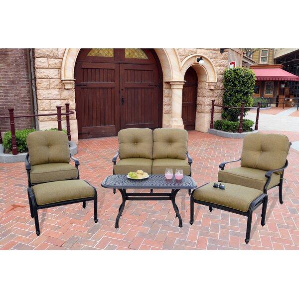 Calhoun 6 Piece Sofa Set with Cushions by Fleur De Lis Living