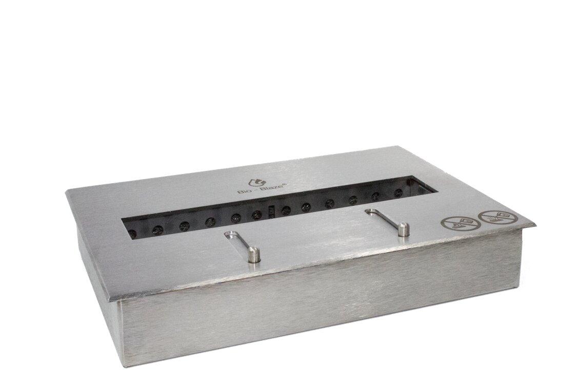 bio blaze bloc adjustable two quart ventless burner ethanol
