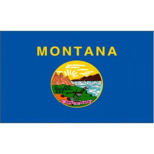 Montana Traditional Flag by NeoPlex