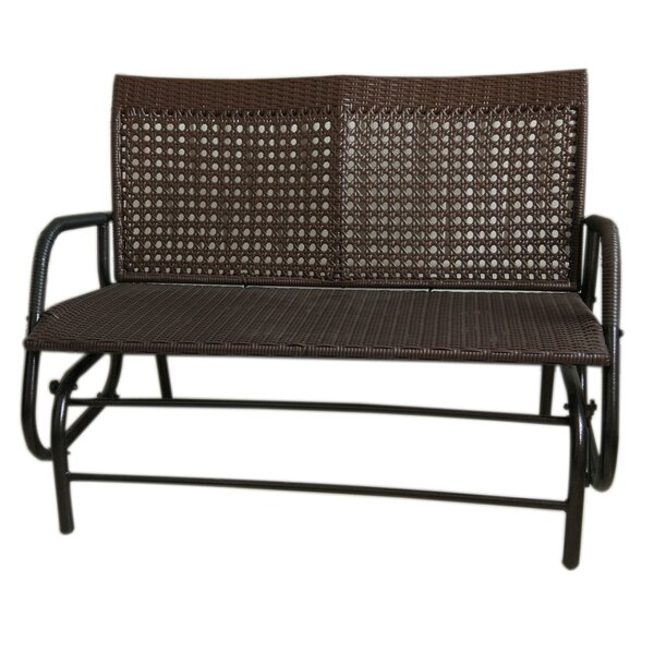 Wicker Rocking Bench by Attraction Design Home