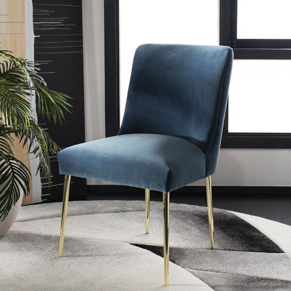Sandon Velvet Upholstered Side Chair By Langley Street�?�