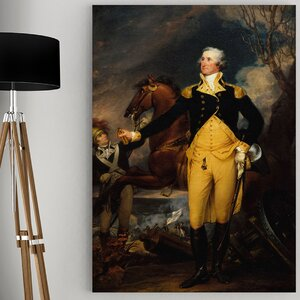 'Washington Battle of Trenton' by John Trumbull Painting Print on Wrapped Canvas by Wexford Home