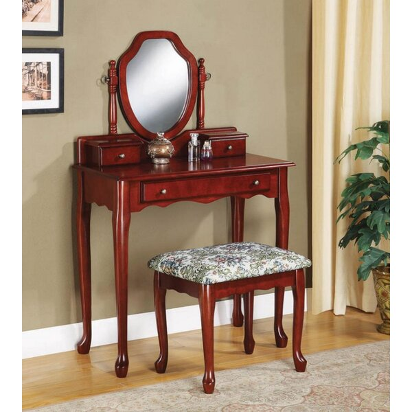 Calne Vanity Set with Mirror by Darby Home Co