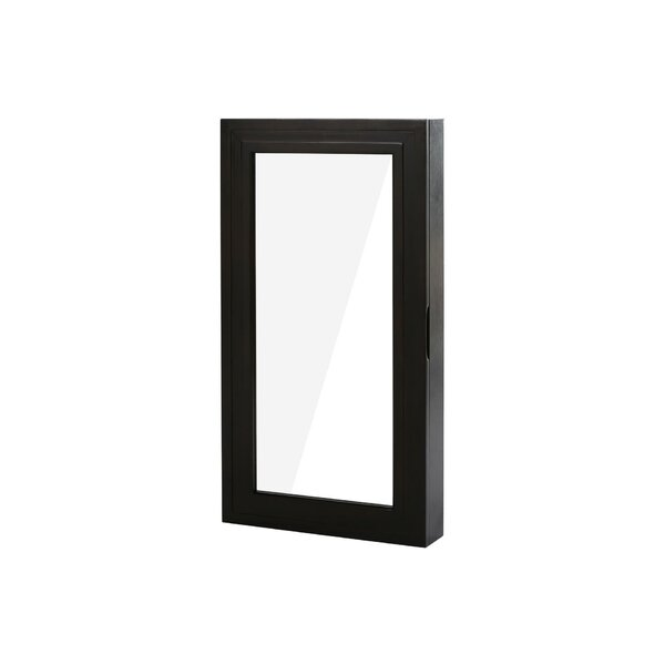 Over the door Jewelry Armoire with Mirror by Best Desu, Inc.