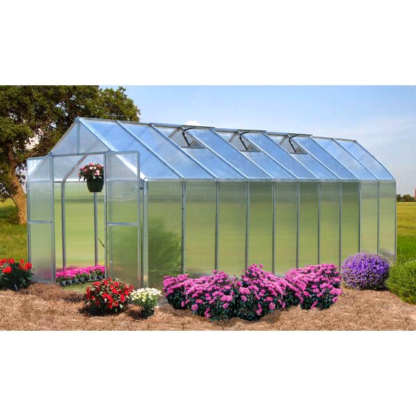 Monticello 8 Ft. W x 20 Ft. D Greenhouse by Riverstone Industries