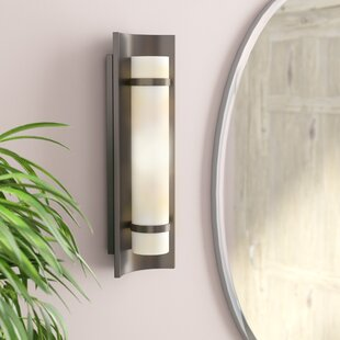 Compare & Buy Clarke Down 1-Light Wall Sconce By Wade Logan