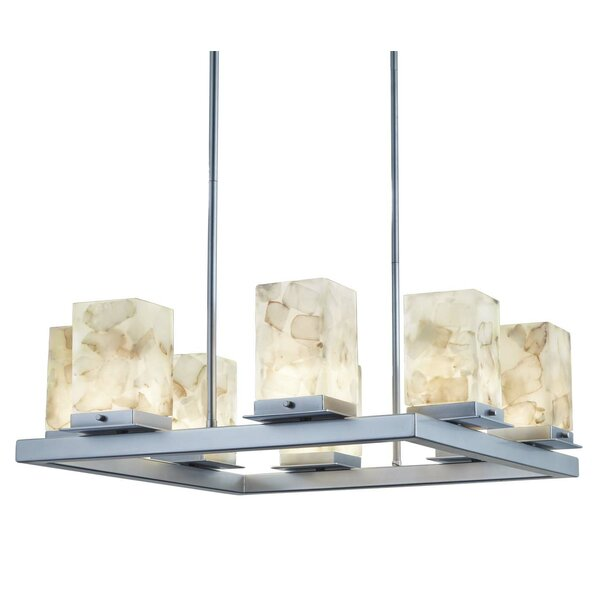 Lengby 8-Light LED Outdoor Chandelier W001179281