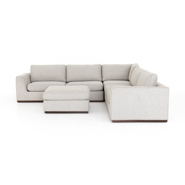 Zoila 3 Piece Sectional by Brayden Studio
