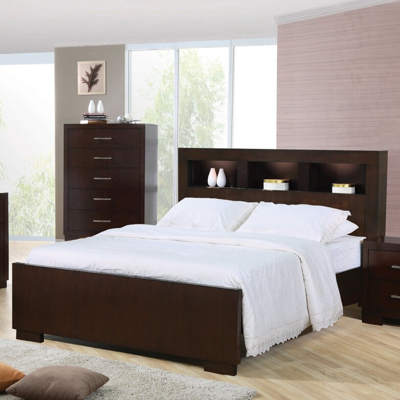 Bed Frames With Storage latitude run experience storage platform bed & reviews | wayfair