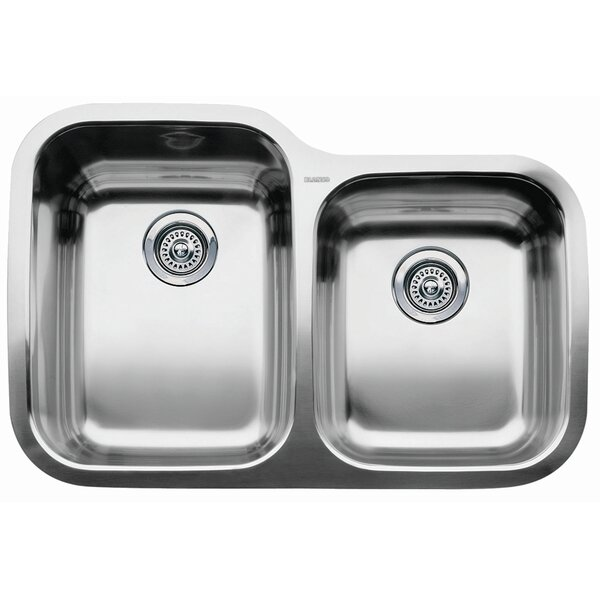 Supreme 31.31 L x 20.88 W Bowl Undermount Kitchen Sink by Blanco