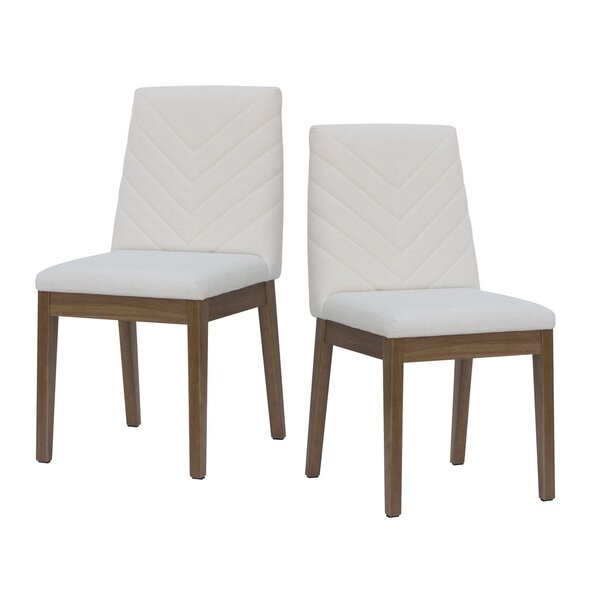 Taub Upholstered Dining Chair (Set of 2) by Union Rustic