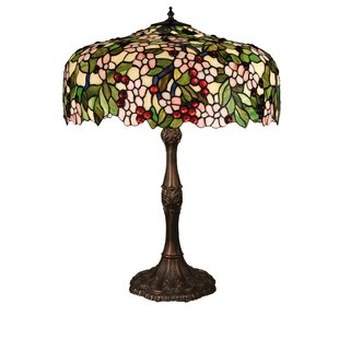 Look for Tiffany Cherry Blossom 28.5 Table Lamp By Meyda Tiffany