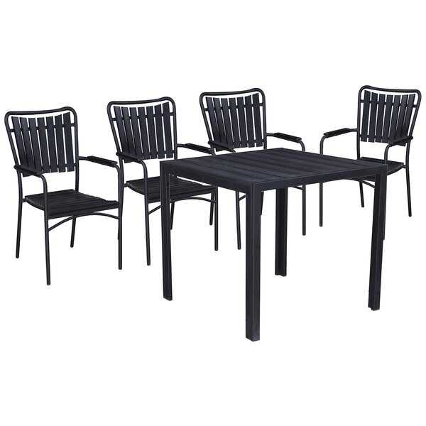 Greater 5 Piece Dining Set by Highland Dunes